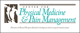 Center for Physical Medicine & Pain Management logo and editorial  services